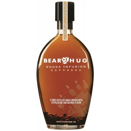 Bear Hug Infusion Espresso Vodka 1L