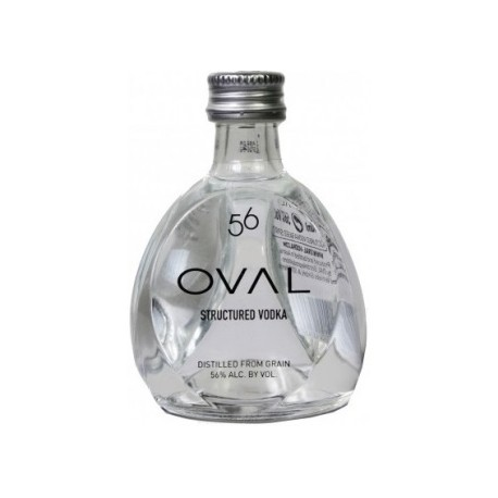 Oval 56 Structured Vodka 0,05L