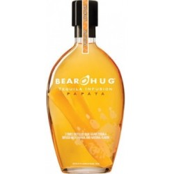 Bear Hug Infusion Papaya Tequila 1L