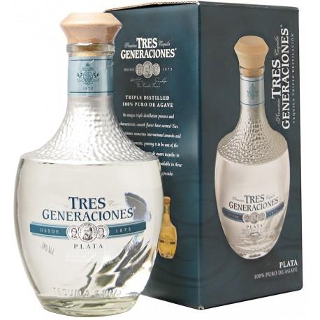 Sauza Tres Generaciones Plata Tequila 0,7L